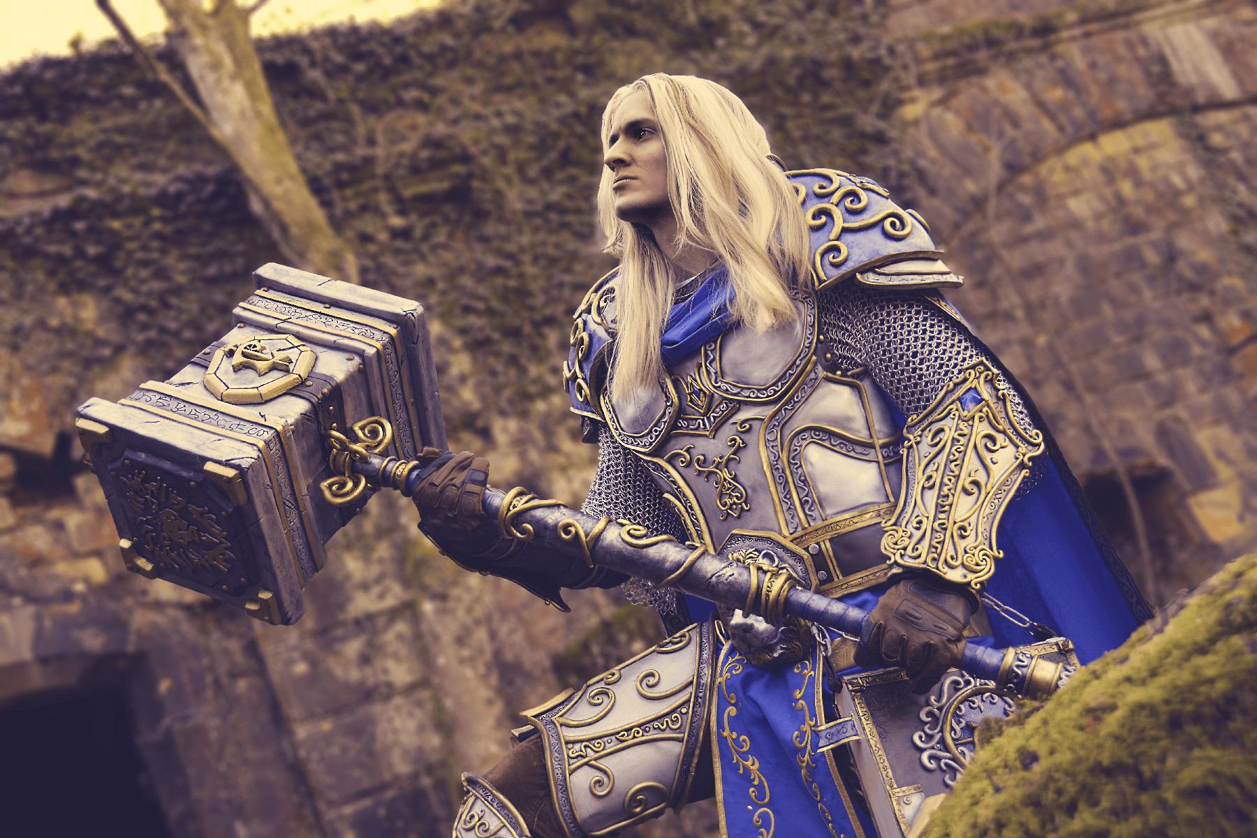 Arthas Menethil paladin cosplay