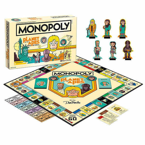 Planet of the Apes Monopoly