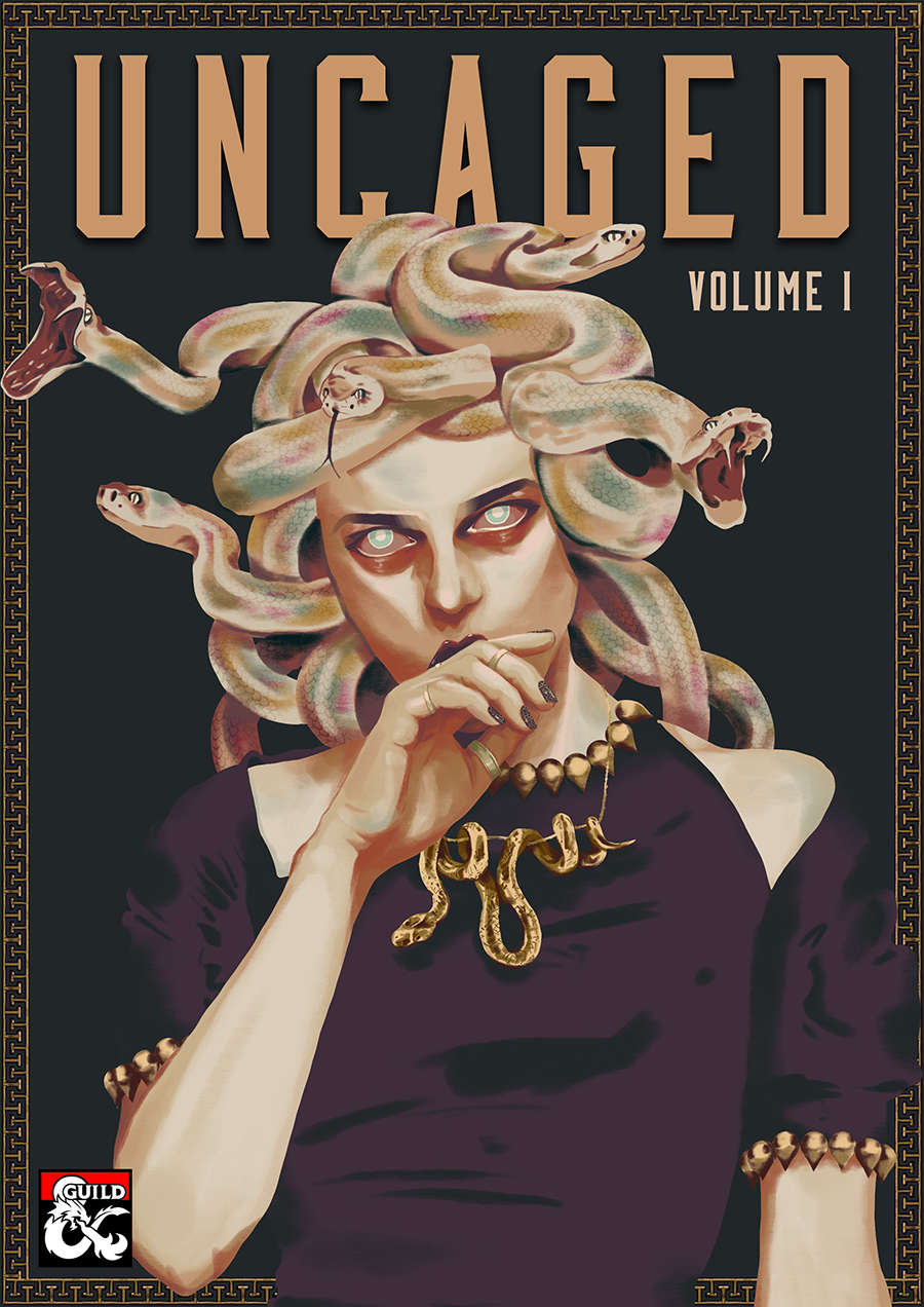Thoughtfully provocative: A review of D&D's Uncaged - volume 1