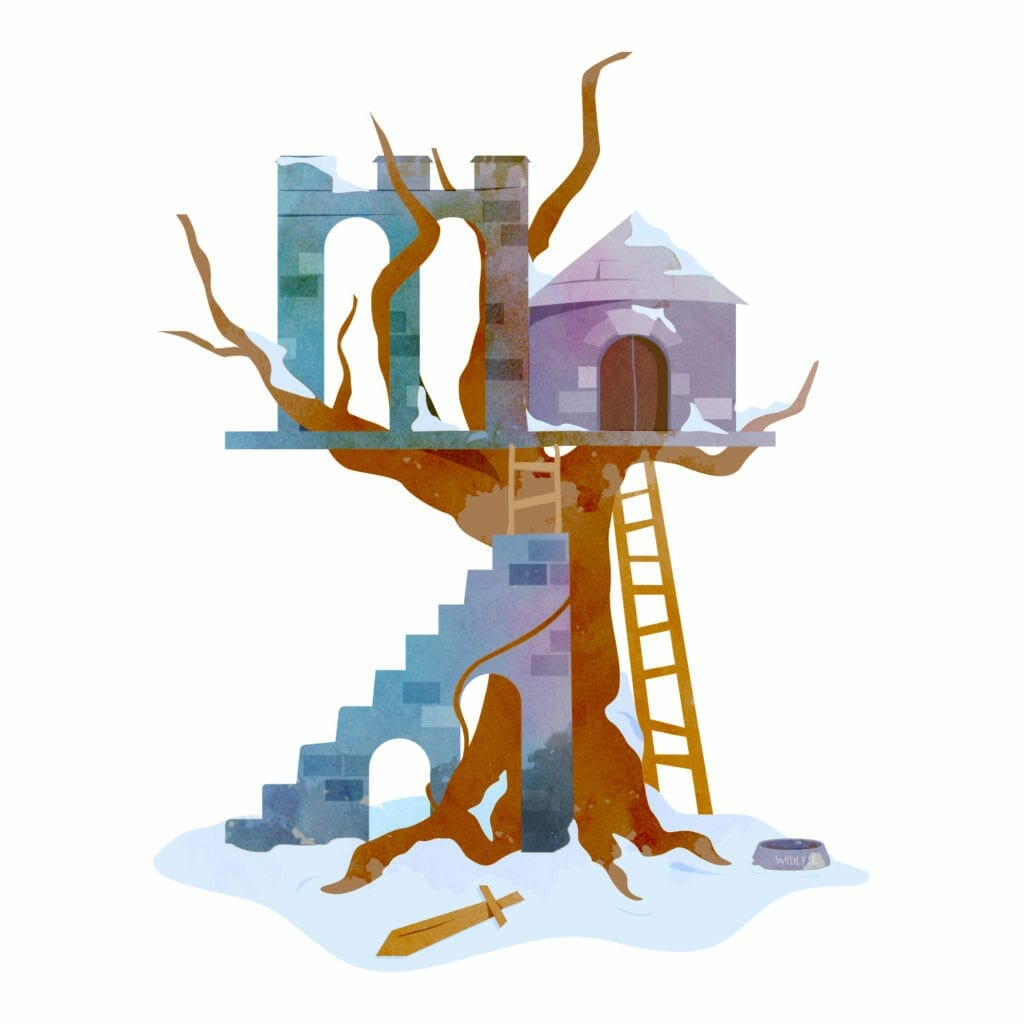 Game of Thrones treehouse