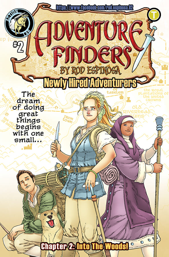 Adventure Finders: Newly Hired Adventurers preview