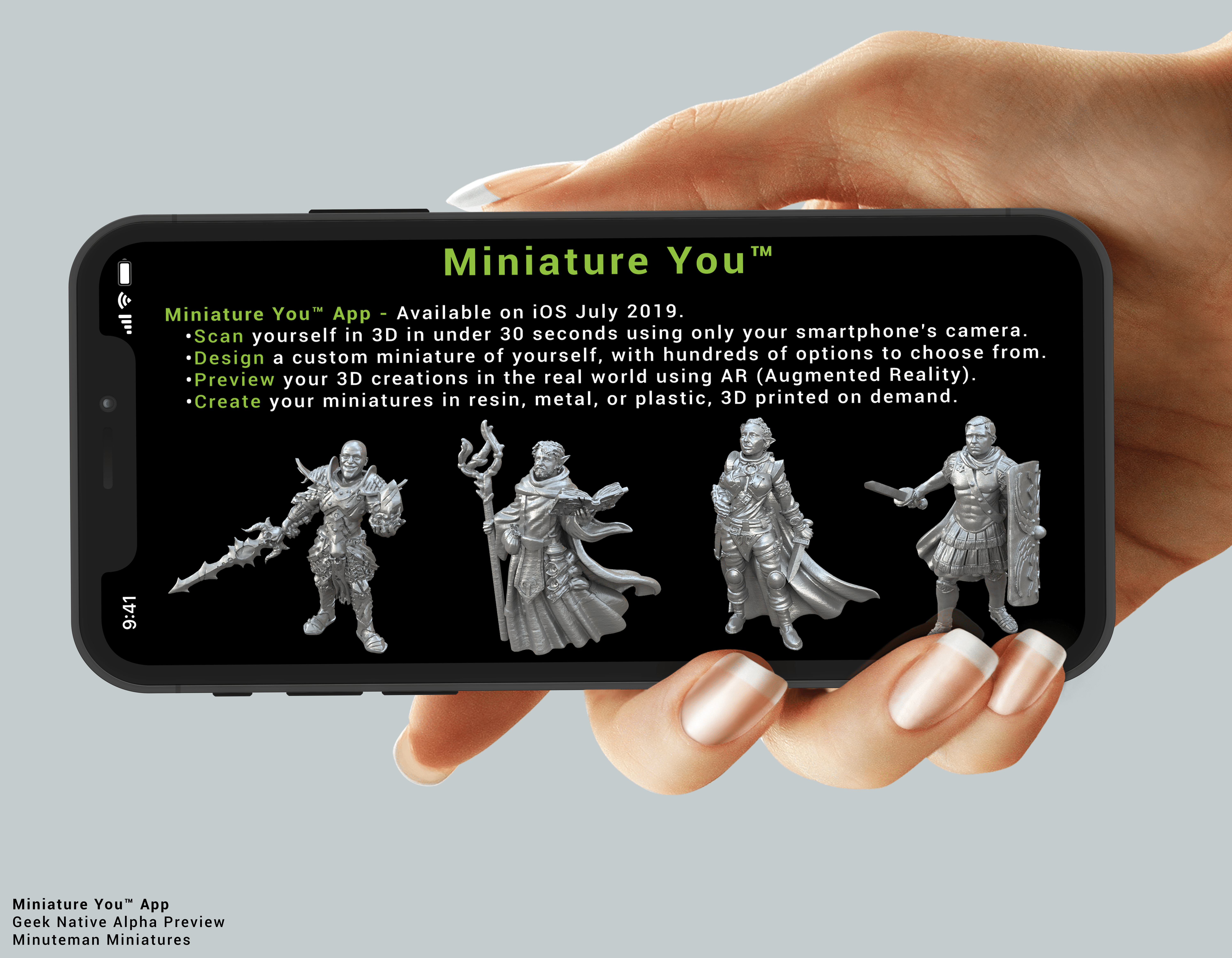 Minuteman Miniatures' Miniature You™