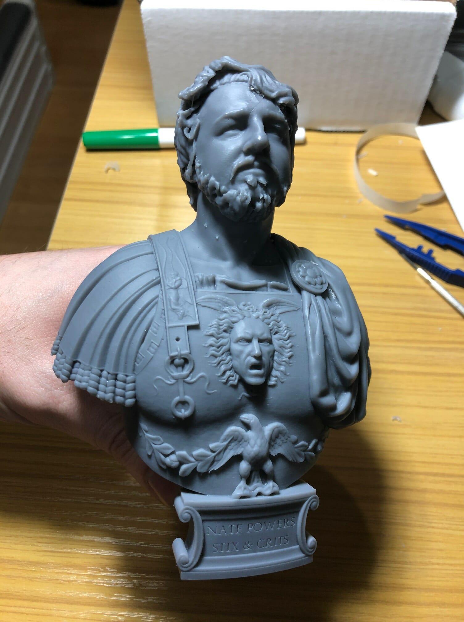 Minuteman Miniatures' bust