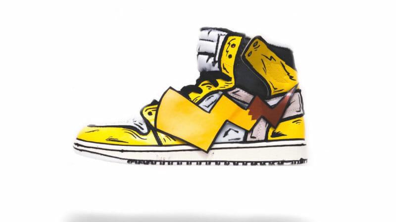 Pikachu Air Jordans