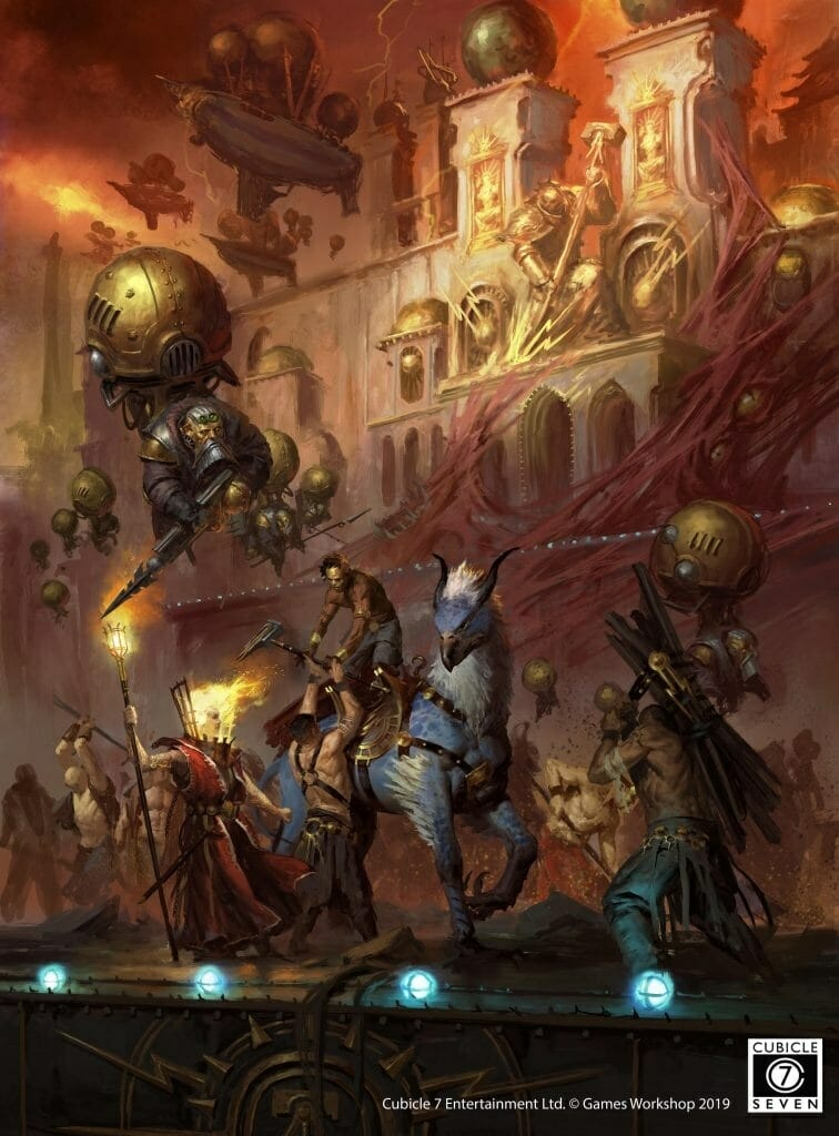 The new Warhammer RPG: Soulbound