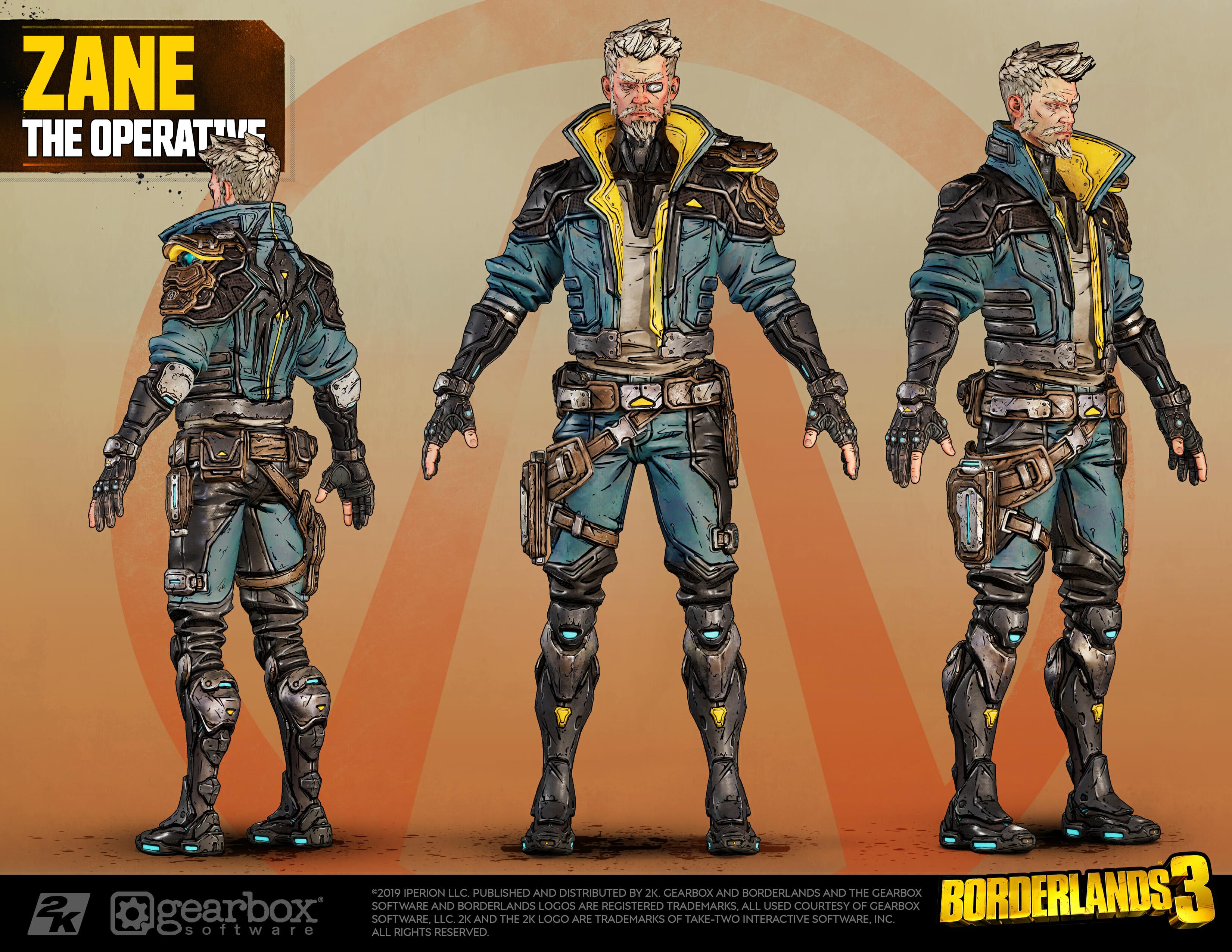 Zane, The Operative, Borderlands 3