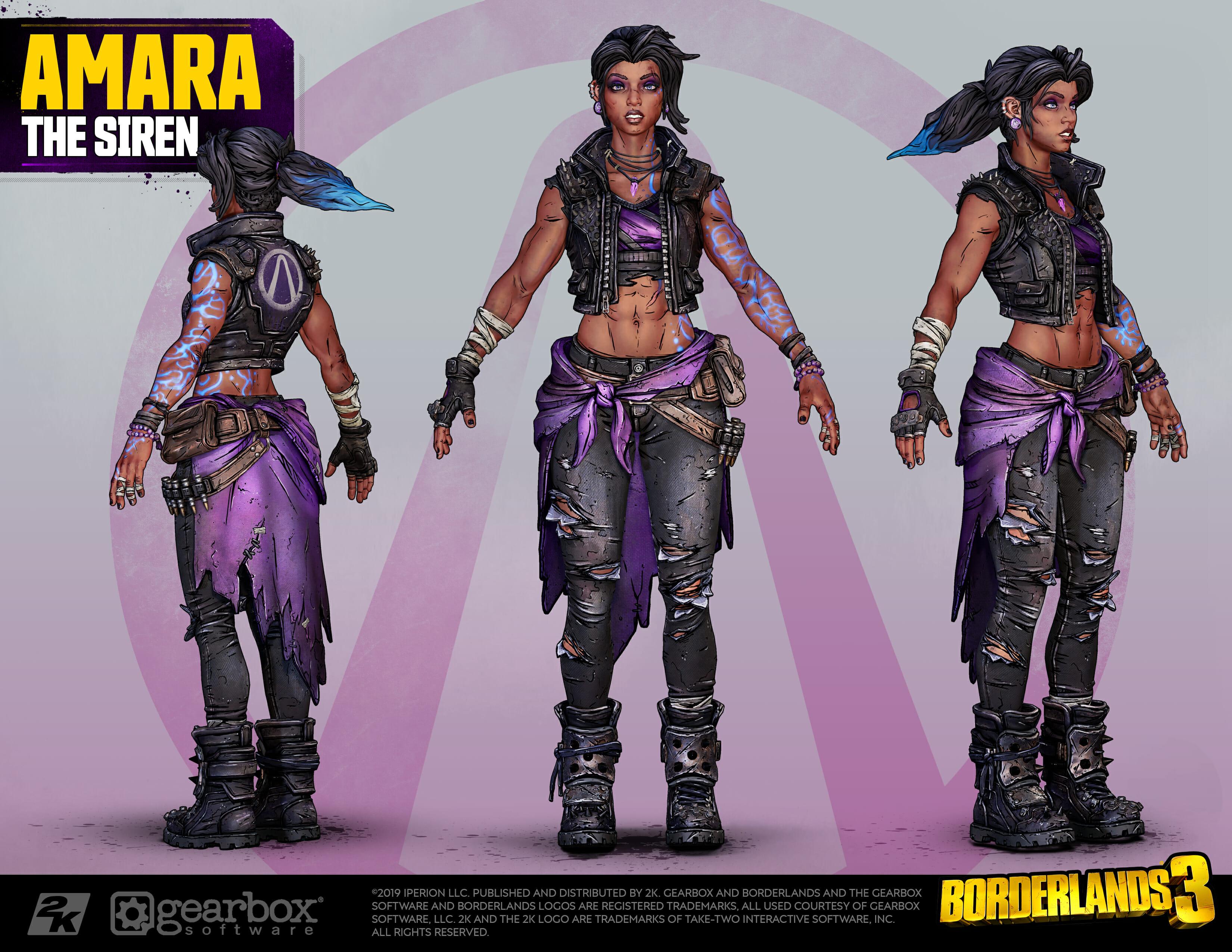 Amara, The Siren, Borderlands 3