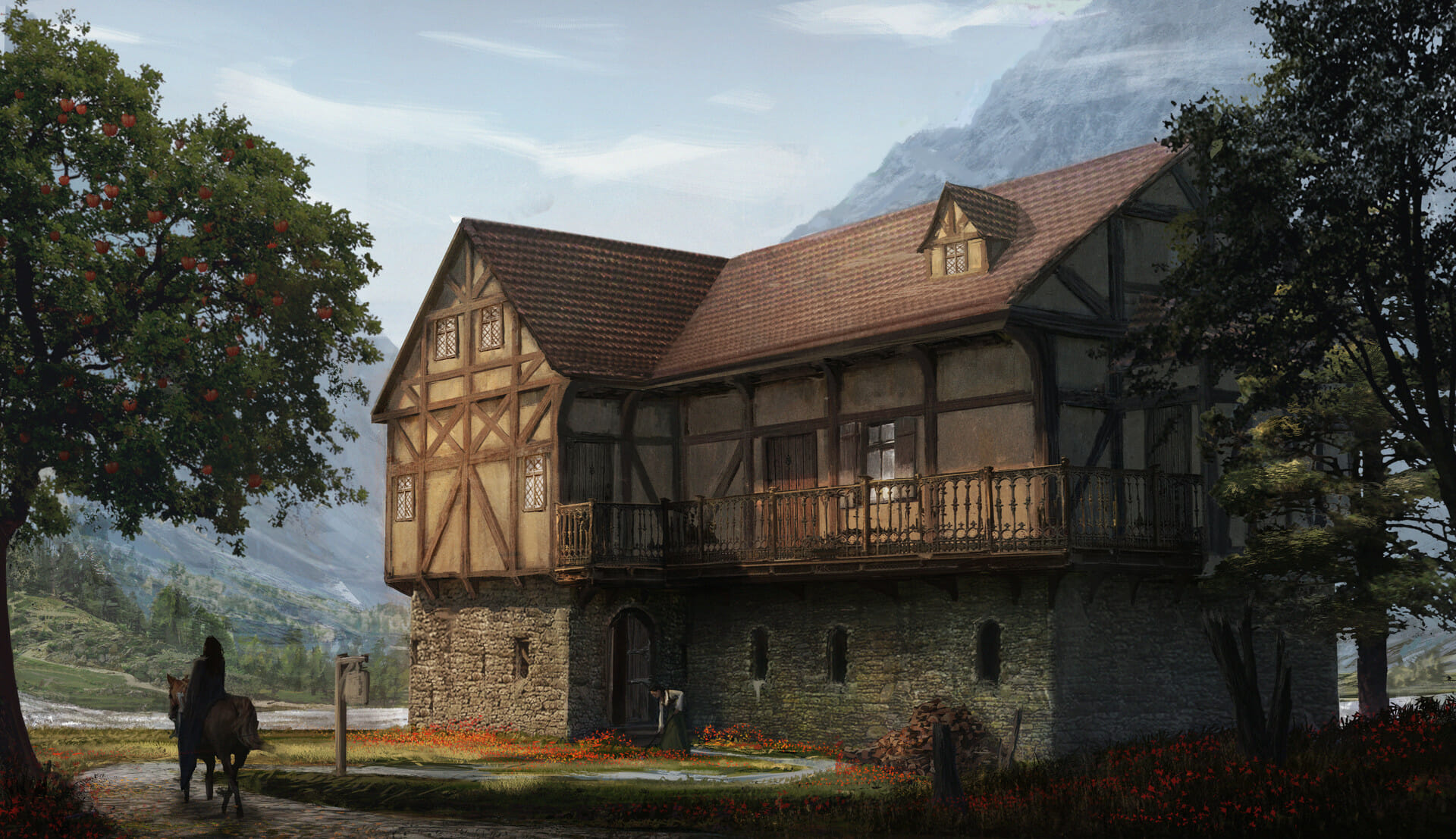 Generate an entire fantasy town and detailed NPCs with a single click