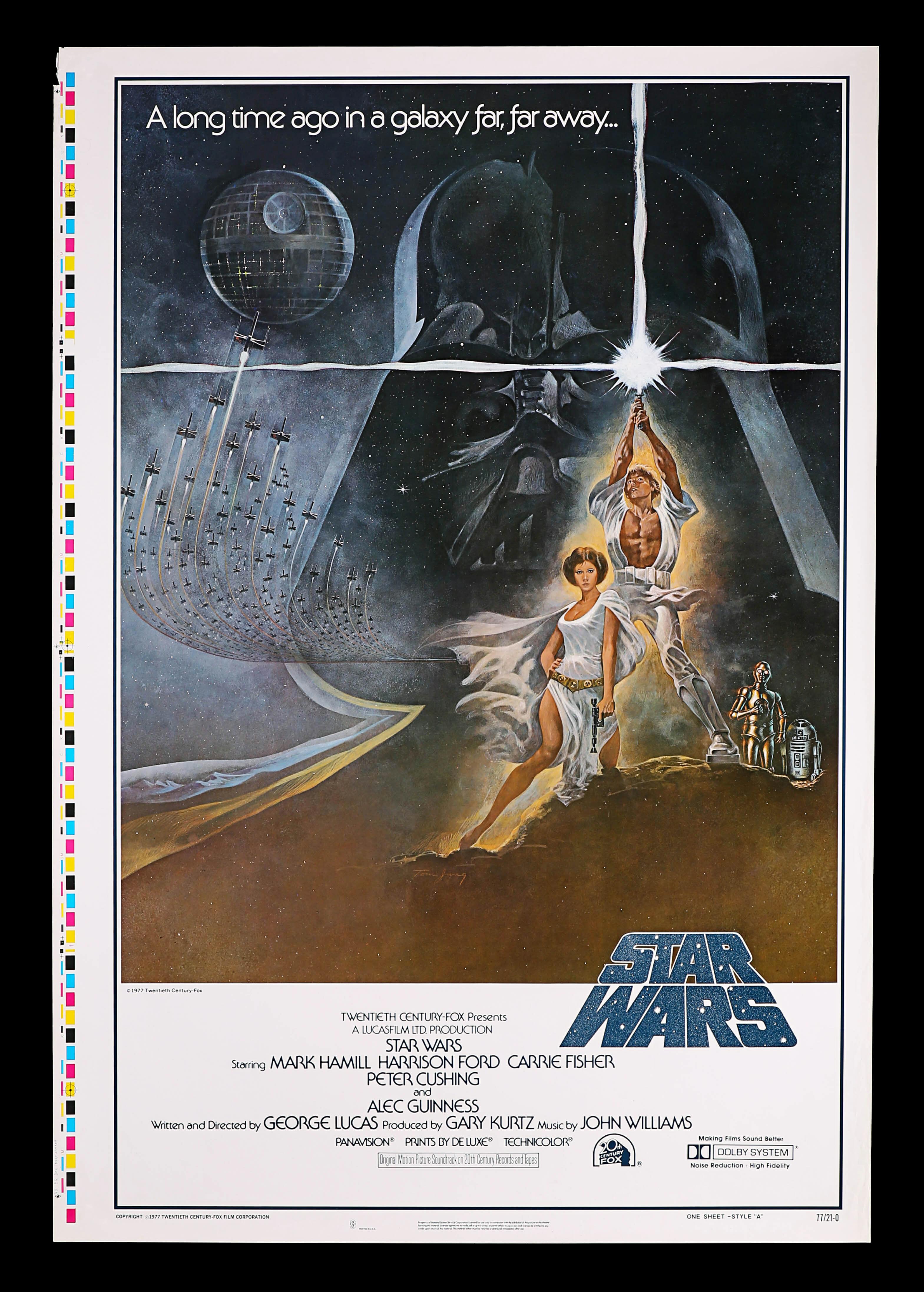 Star Wars one sheet