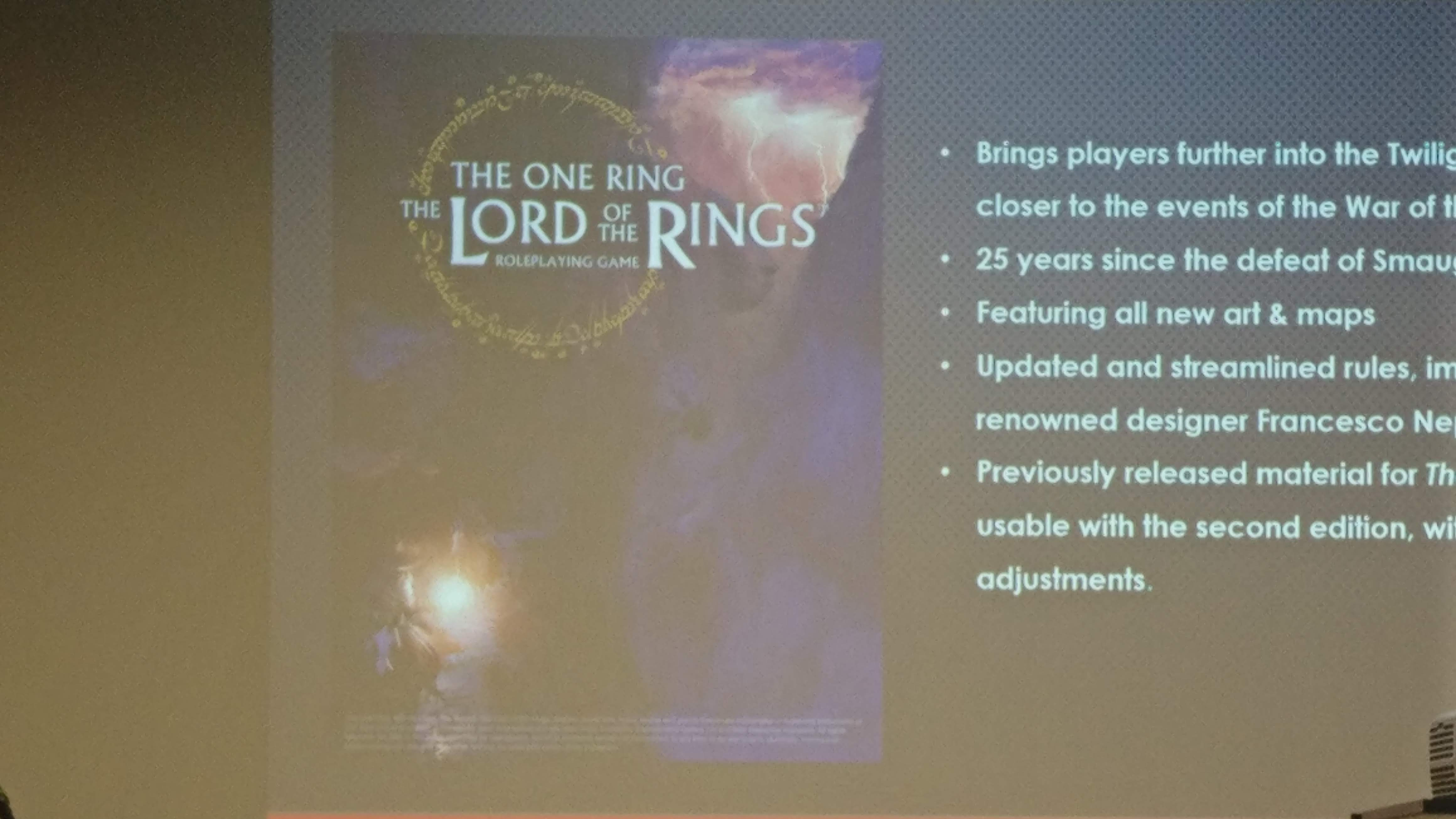 Lord of the Rings 2e cover reveal