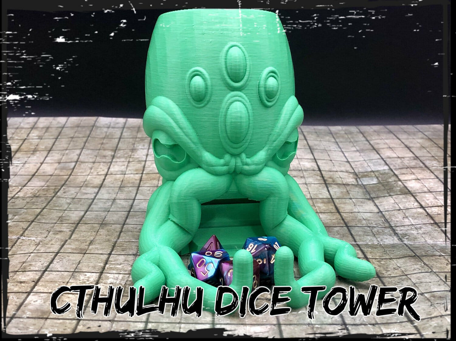 Cthulhu dice tower