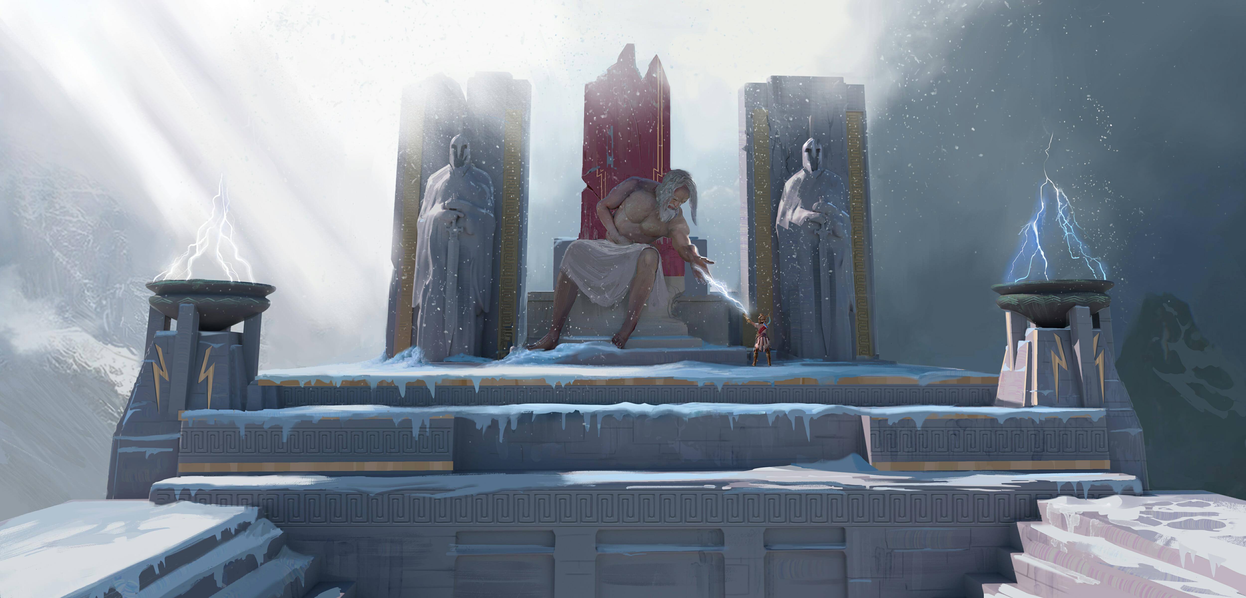 Zeus Throne