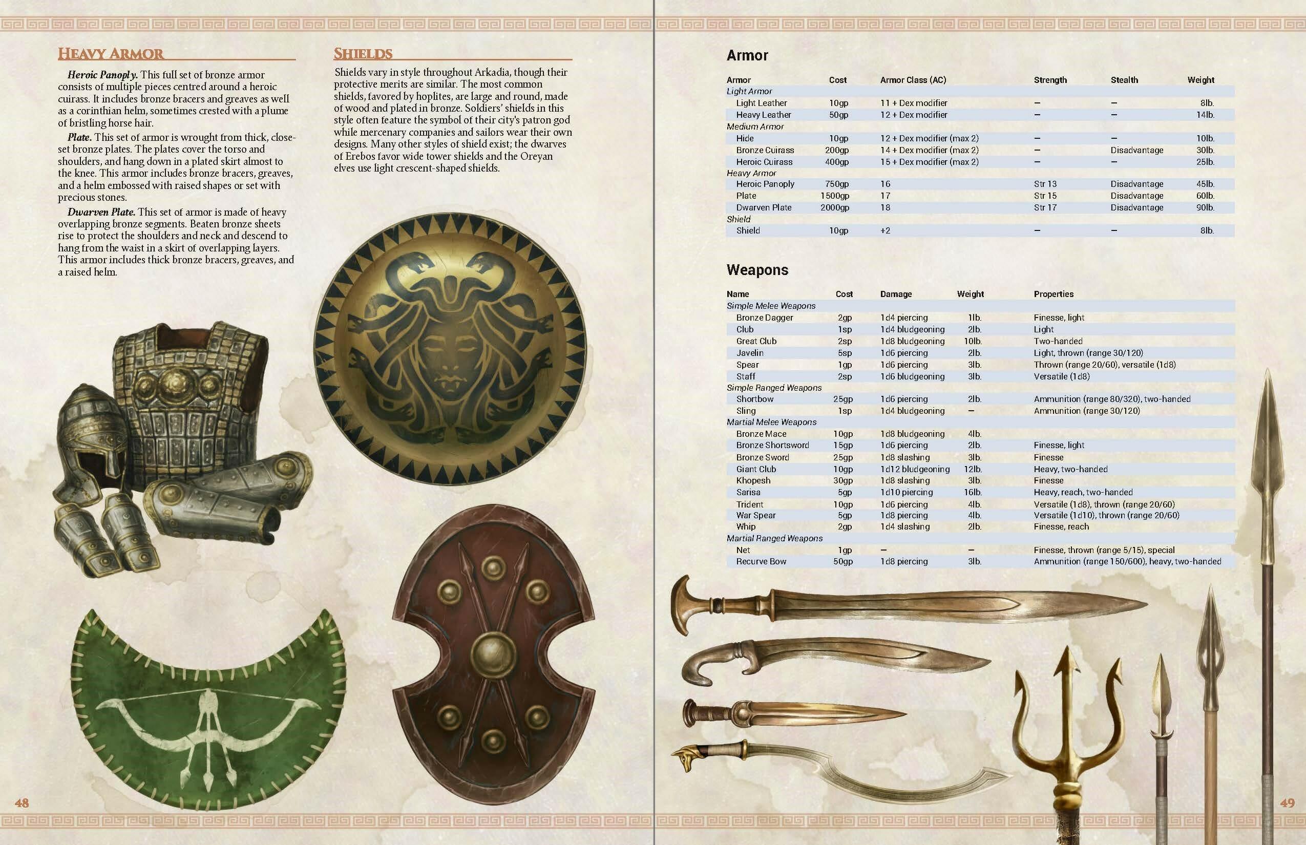 Arkadia - heavy armour