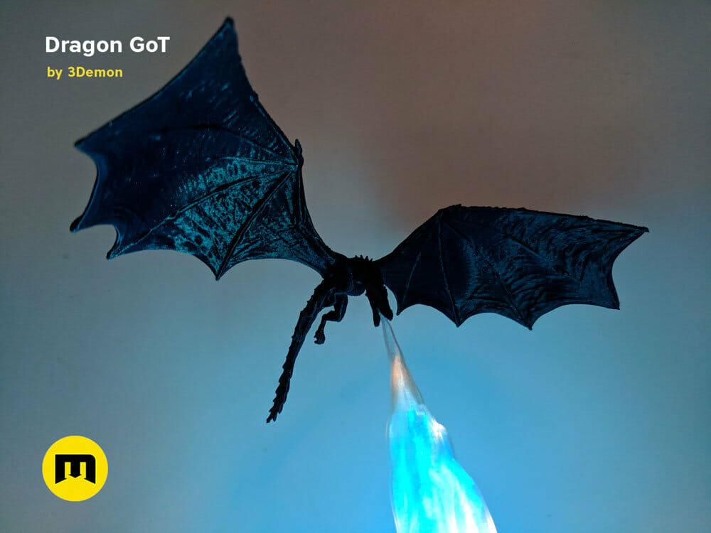 Blue dragon light