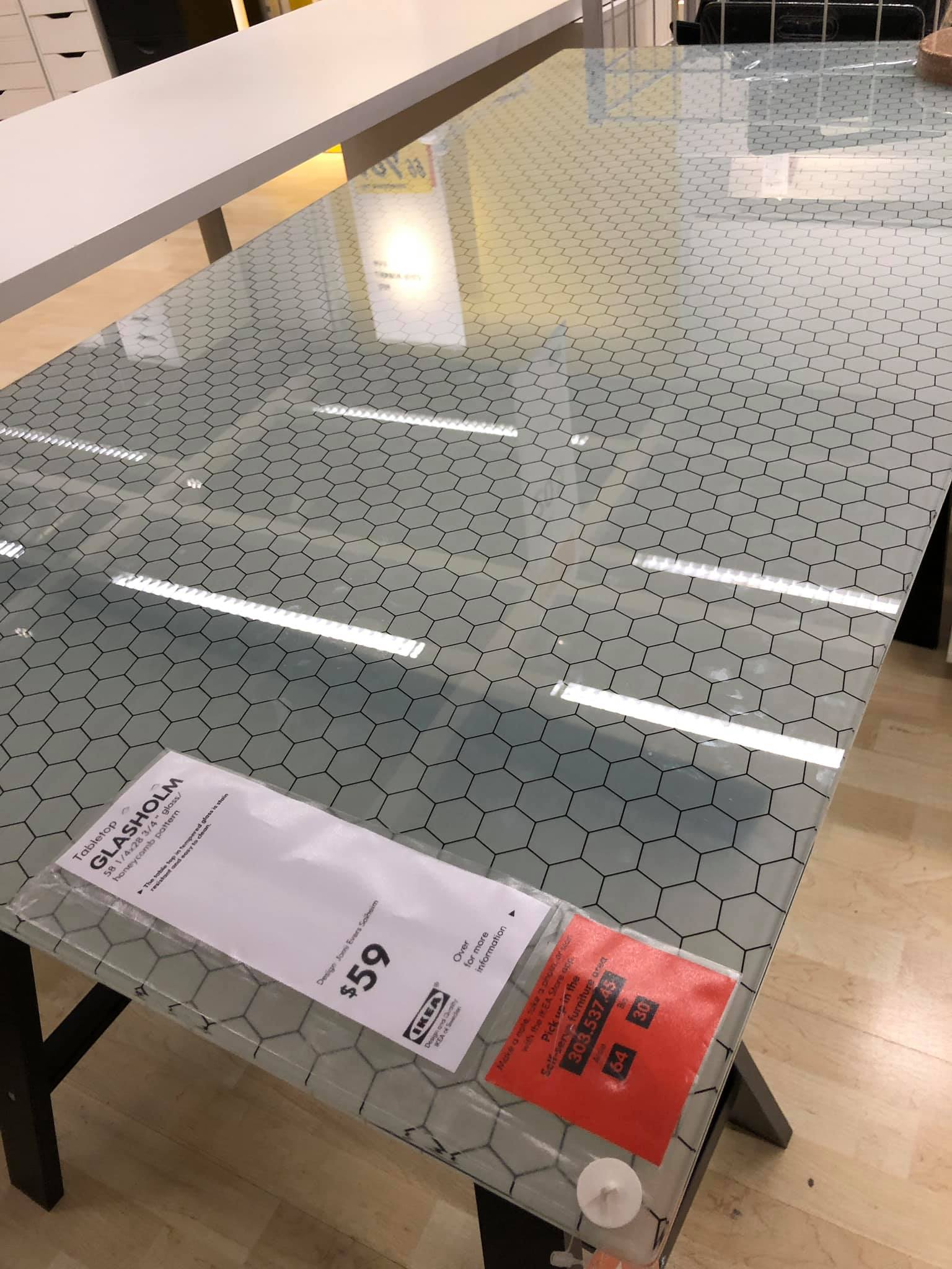 Glazen Side Table Ikea.D D Players Discover That Ikea Are Selling A Hex Crawl Table