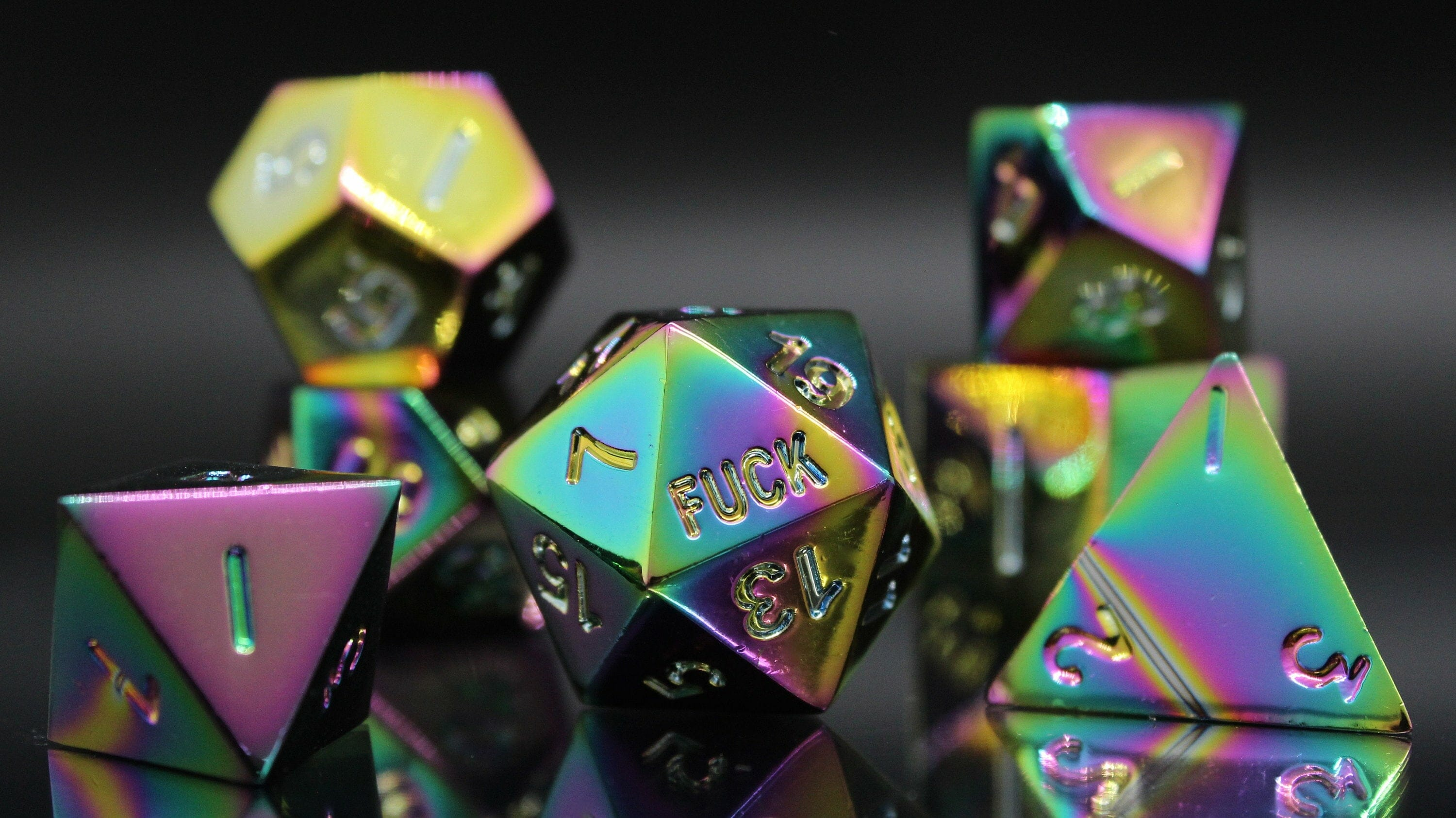 Shiny f*ck dice