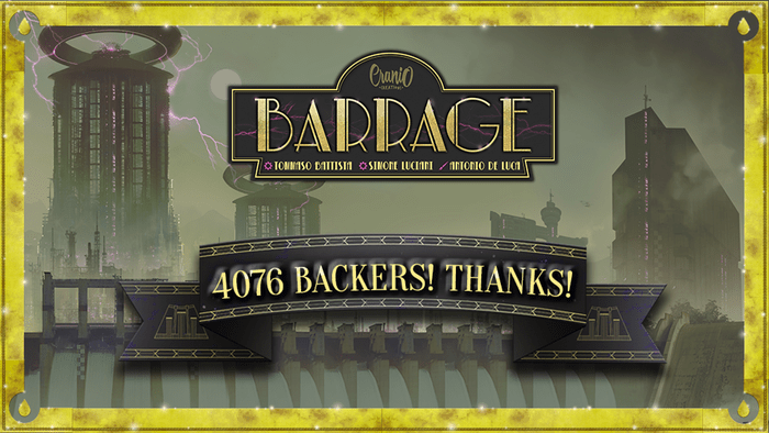 Barrage on Kickstarter