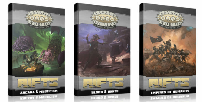 Rifts America: Savage Worlds