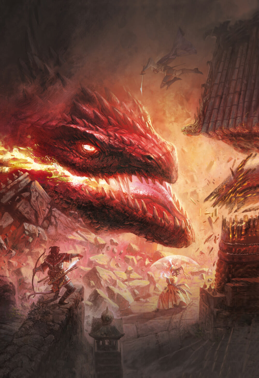Fateforged - Red dragon