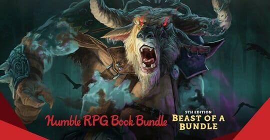 Humble Bundle RPGs: 5th edition Beast Bundle raises funds for RAINN