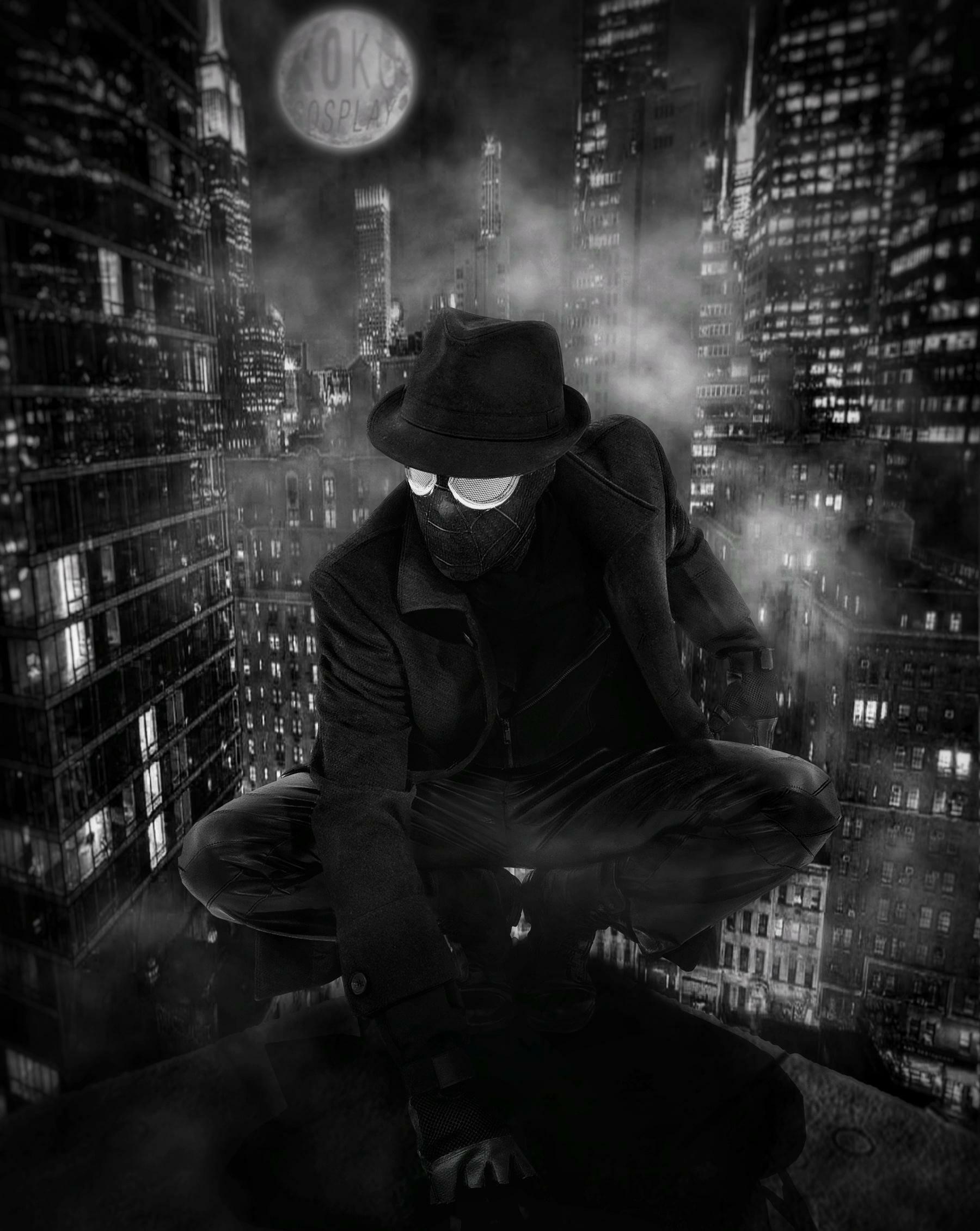 Spider-man Noir cosplay