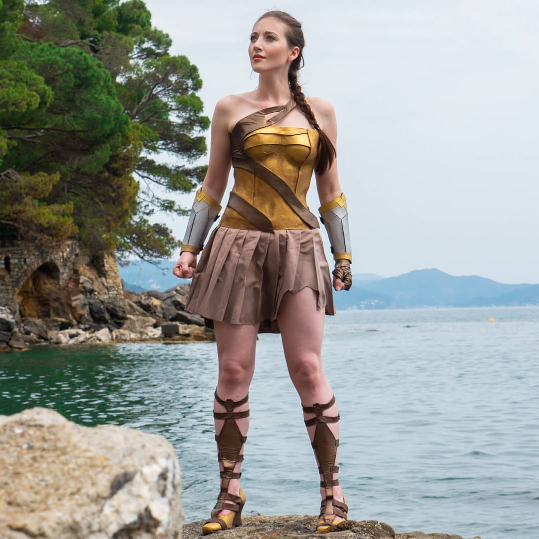Superhero Week: Lola V as Themyscira Wonder Woman