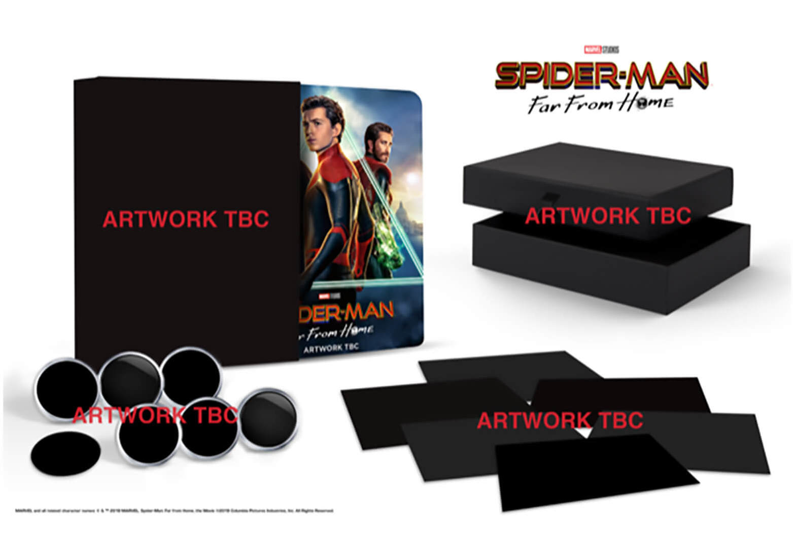 Spider-man: Far from Home 4K Ultra HD Collector's Edition Steelbook