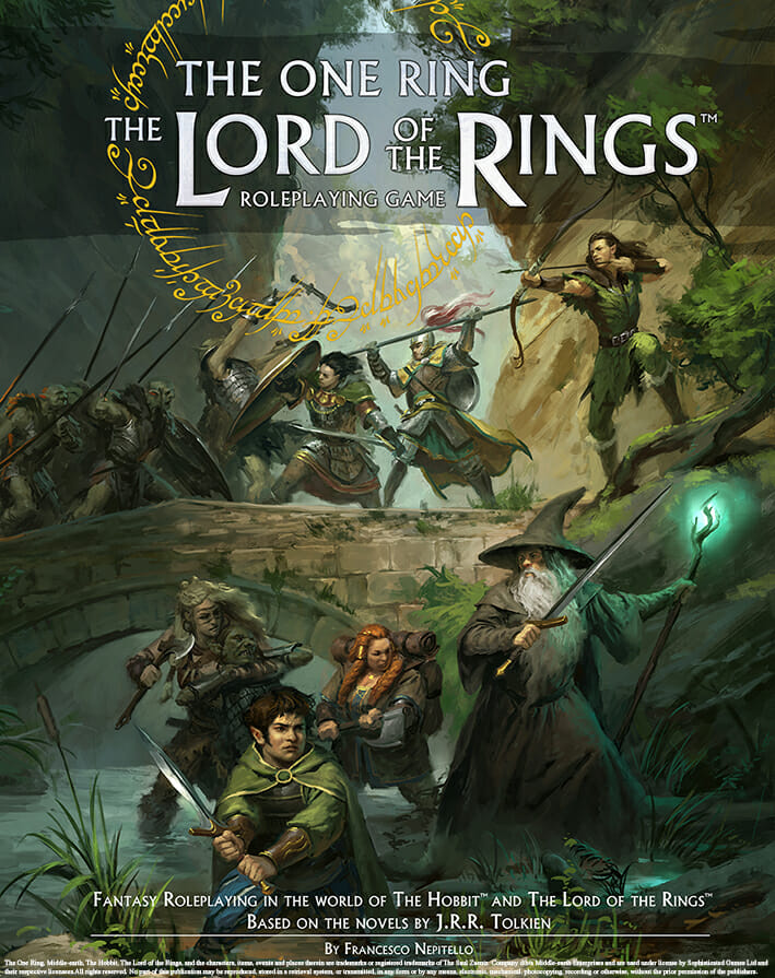 This is the new The One Ring - The Lord of the Rings RPG