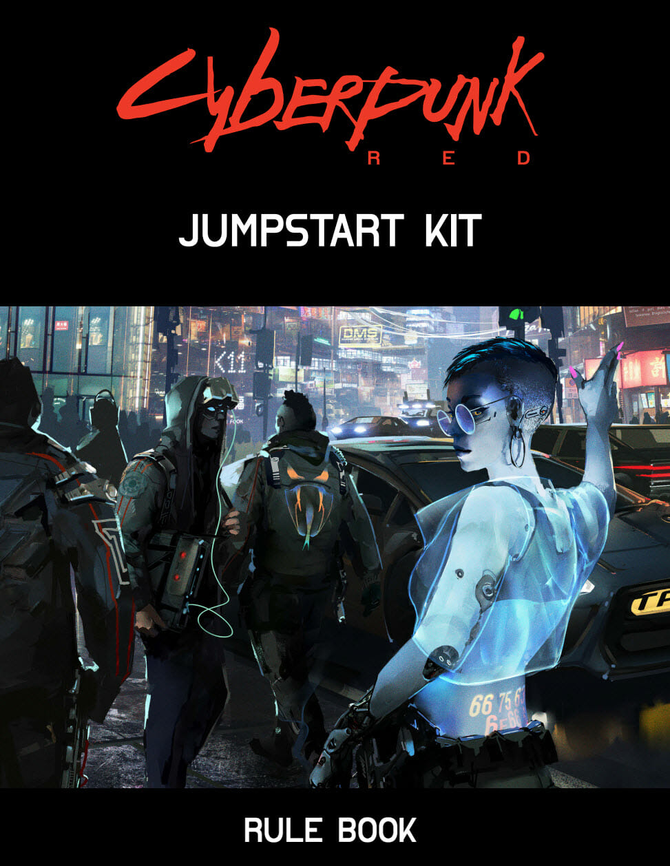 So, you wanna be a cyberpunk? A review of the Cyberpunk Red Jumpstart Kit