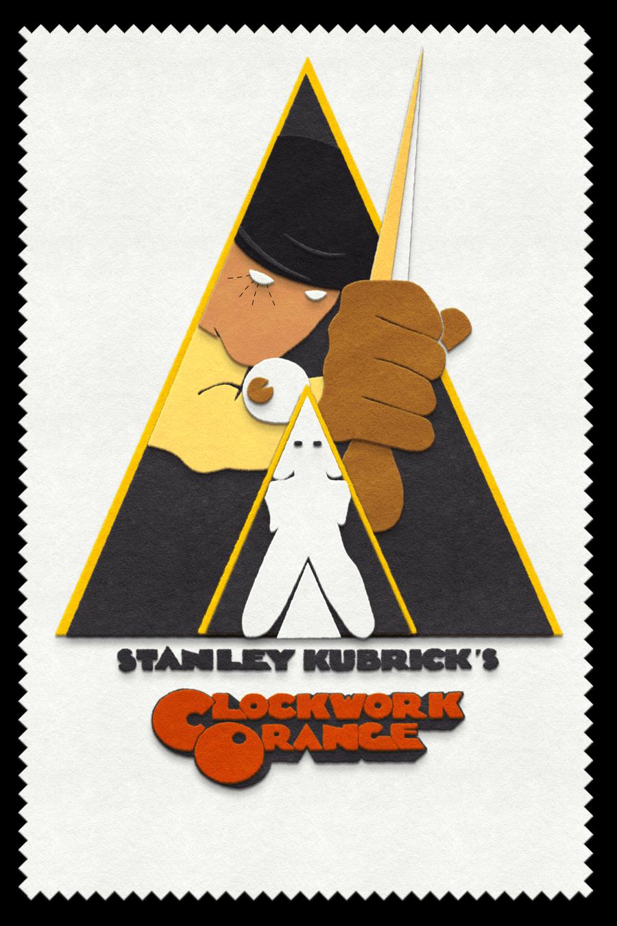 Popular horror movie p...A Clockwork Orange Fan Art
