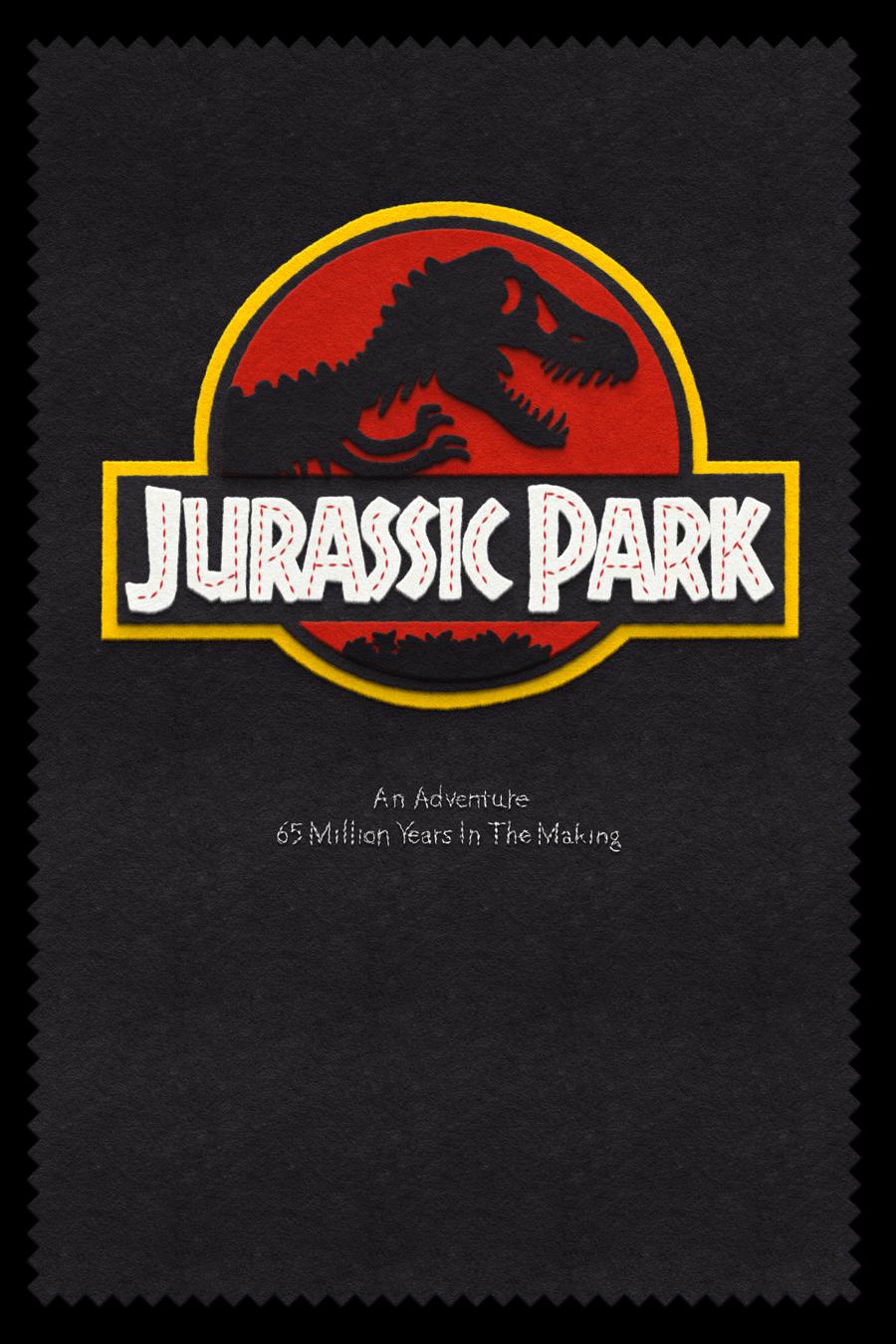 Jurassic Park  felt design