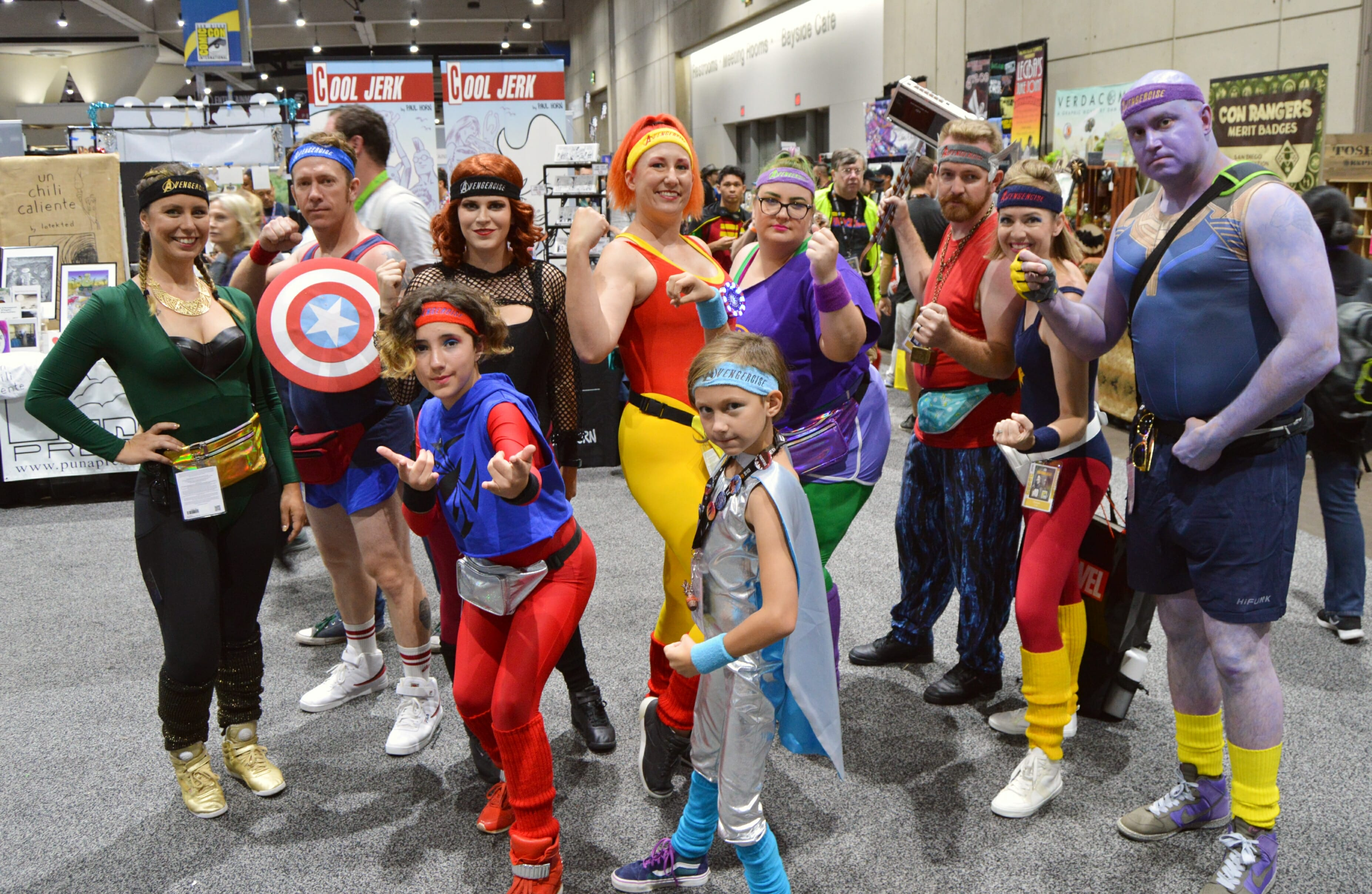 Workout Avengers