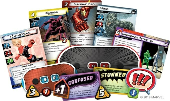 Other Marvel Champions game cards