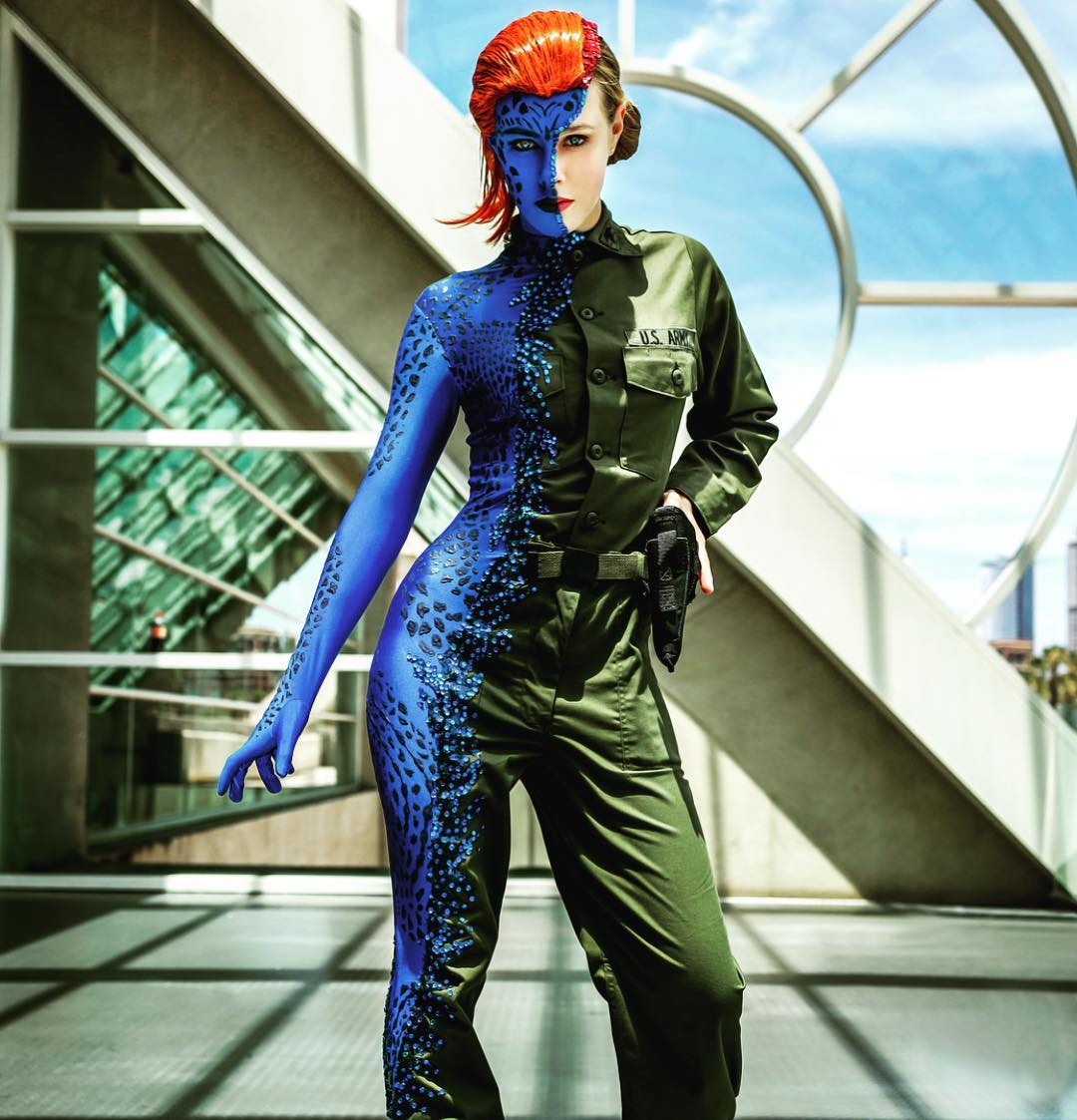 Evy Thomas as Mystique