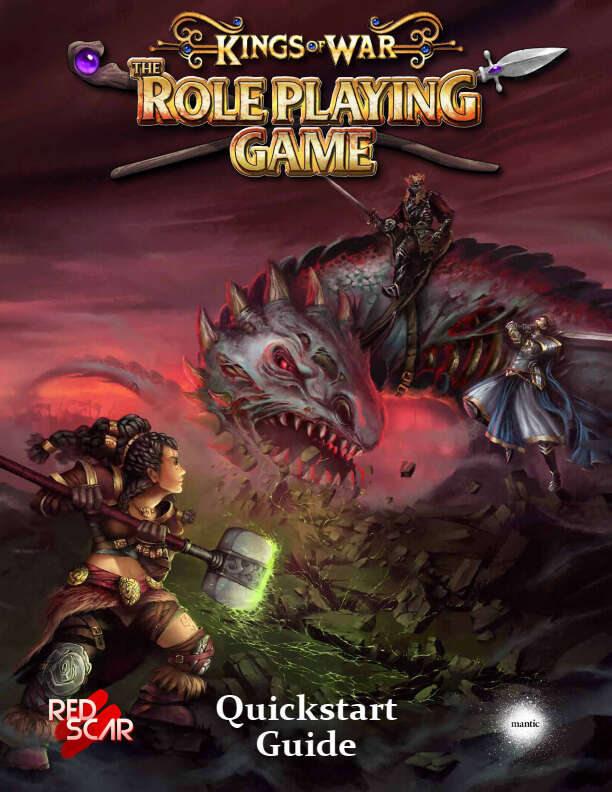 Kings of War RPG quickstart now available for free