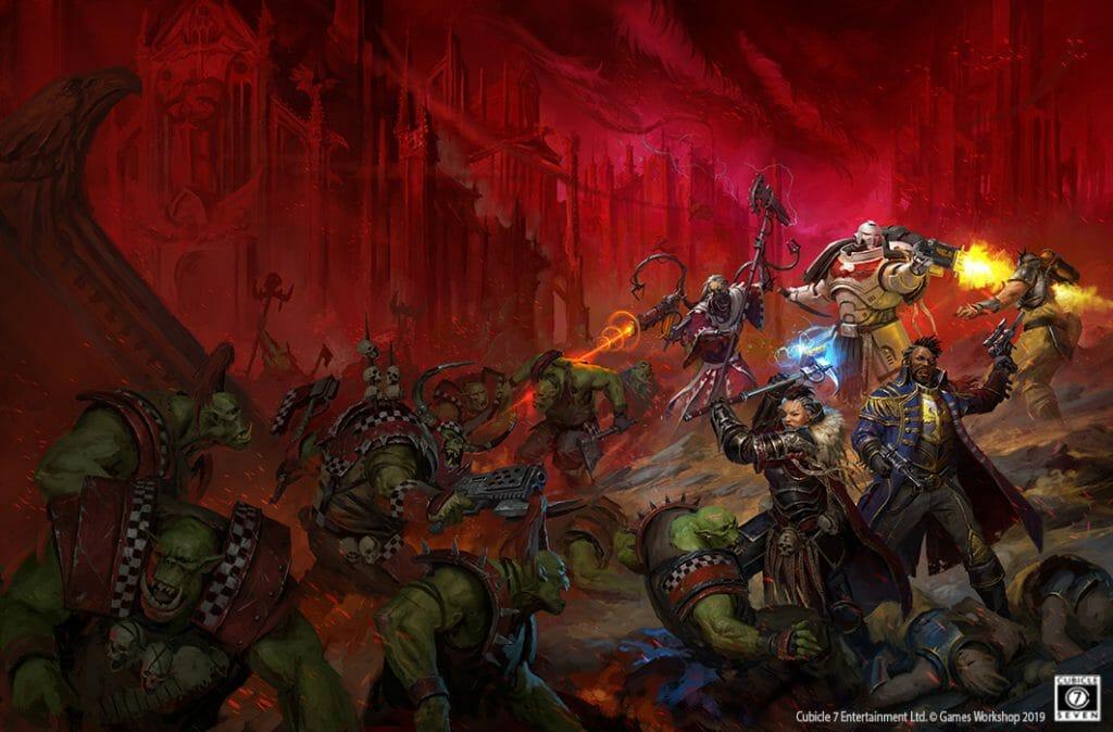 Wrath & Glory wrap-around
