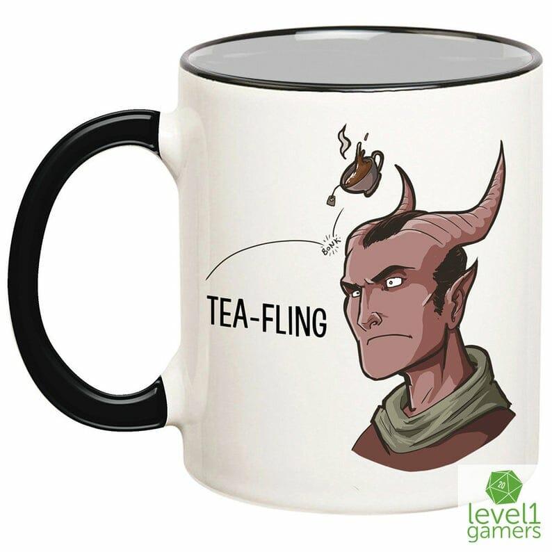 Tea-fling