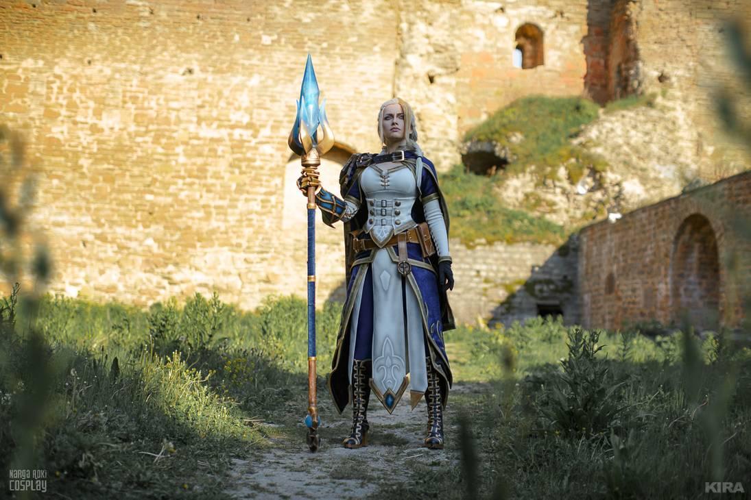 World of Warcraft's Lady Jaina Proudmoore brought to life