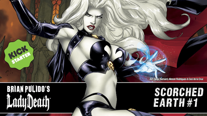 Lady Death: Scorched Earth