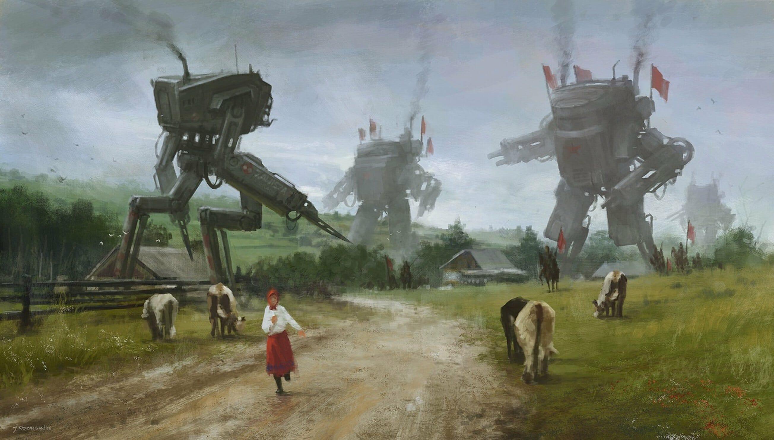 The sensational art of Jakub Różalski