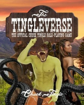 Gay dinosaur erotica author Chuck Tingle publishes the Tingleverse RPG
