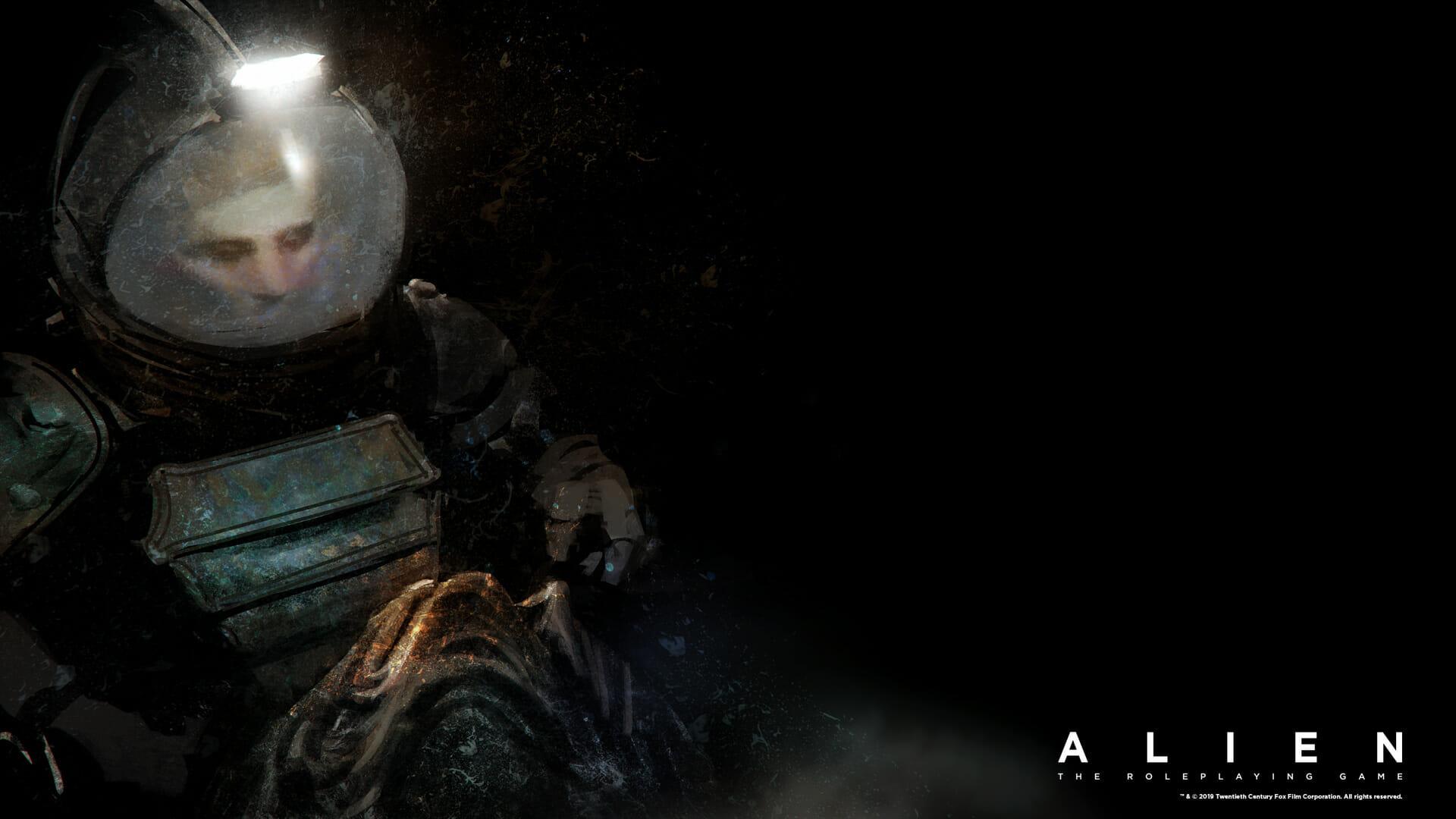 Alien RPG wallpaper