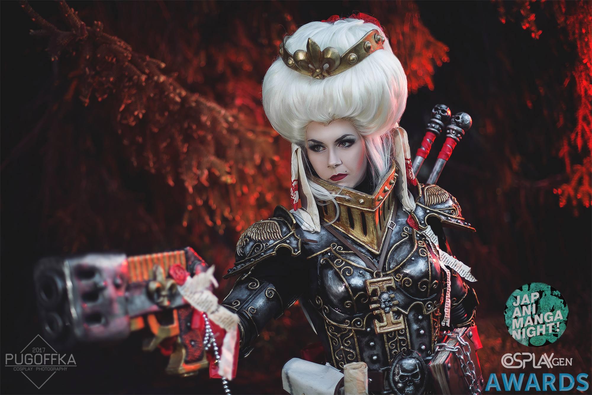 Ordo Hereticus Warhammer 40K cosplay