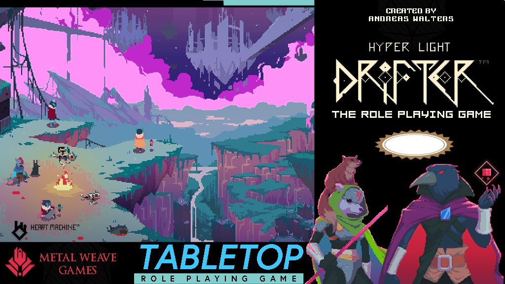Hyper Light Drifter RPG