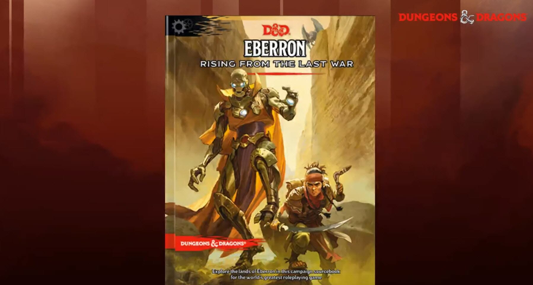 WotC changes Eberron: Rising from the Last War cover