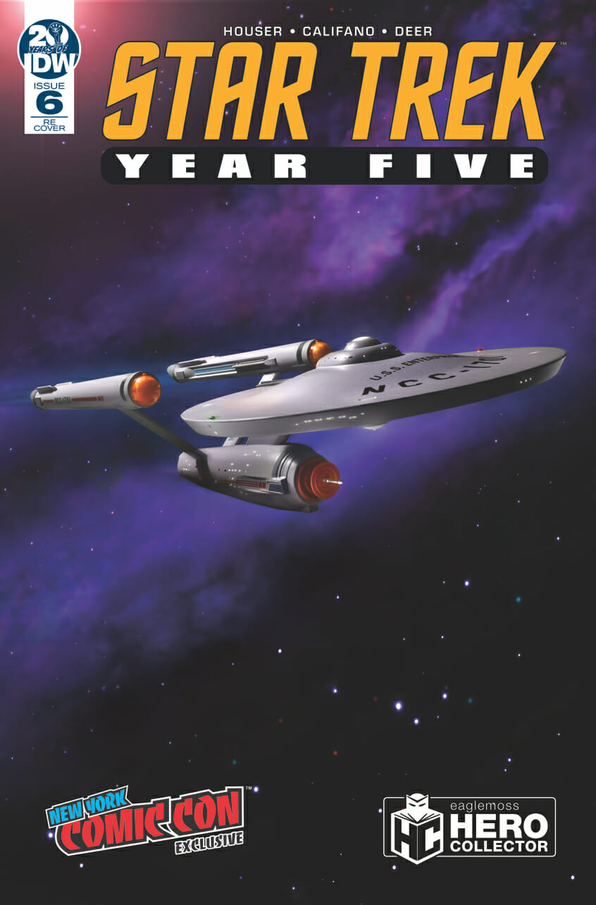Star Trek: Year Five #6  - Hero Collector cover