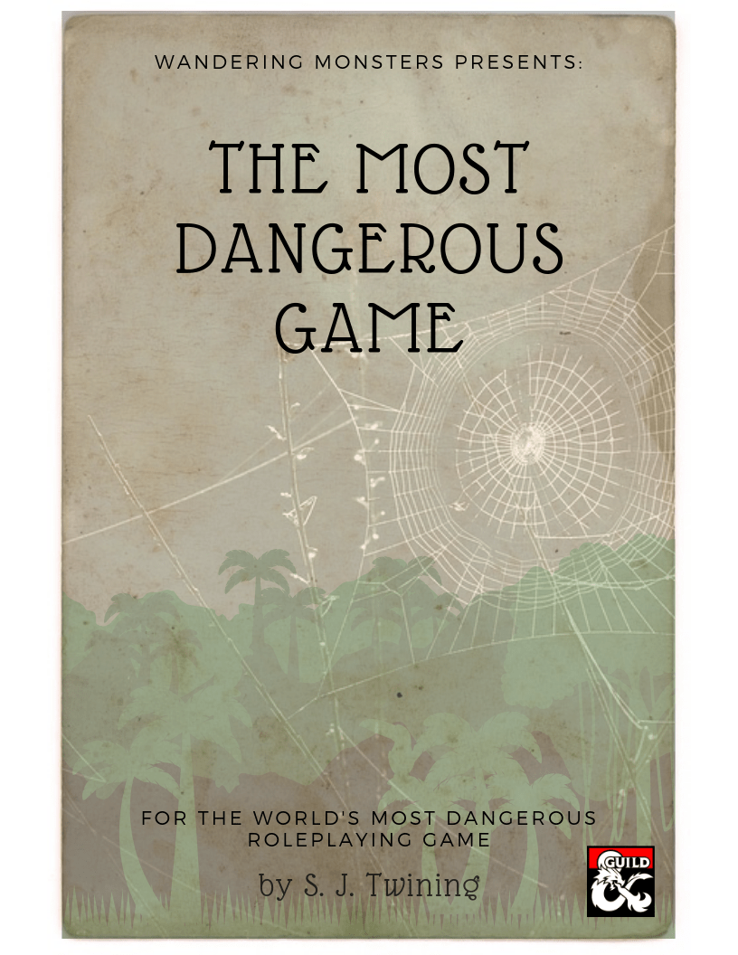 The Most Dangerous Game is converted for the world's most popular roleplaying game