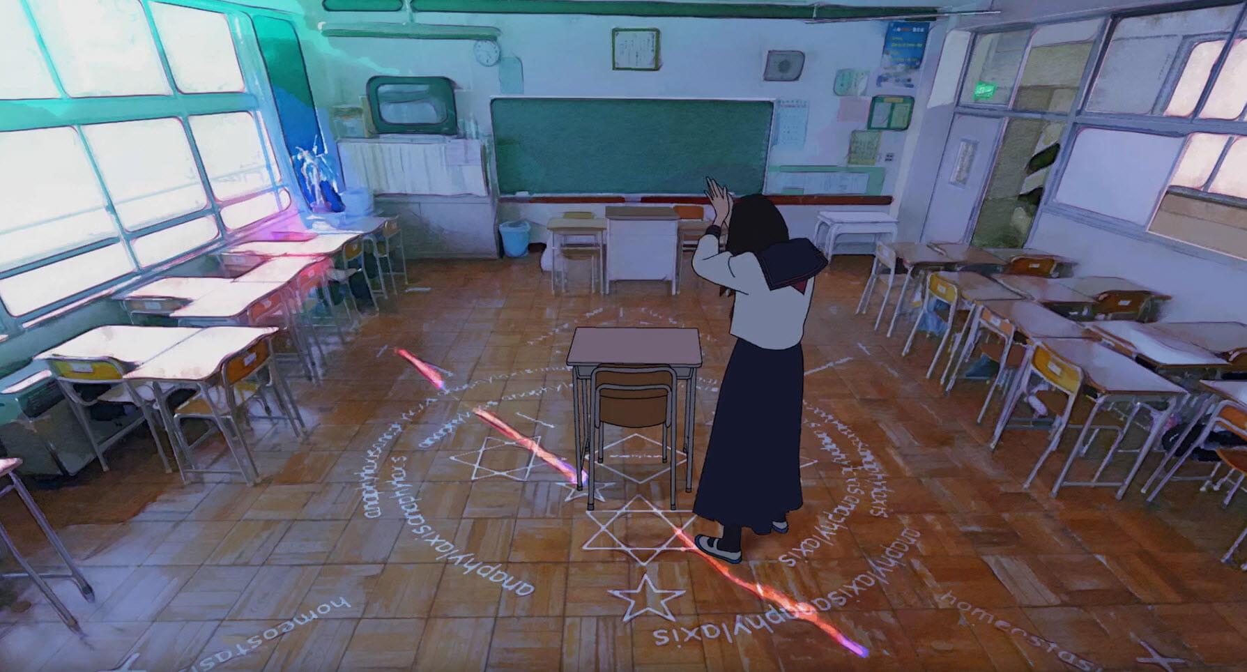 School rituals - Hana & Alice
