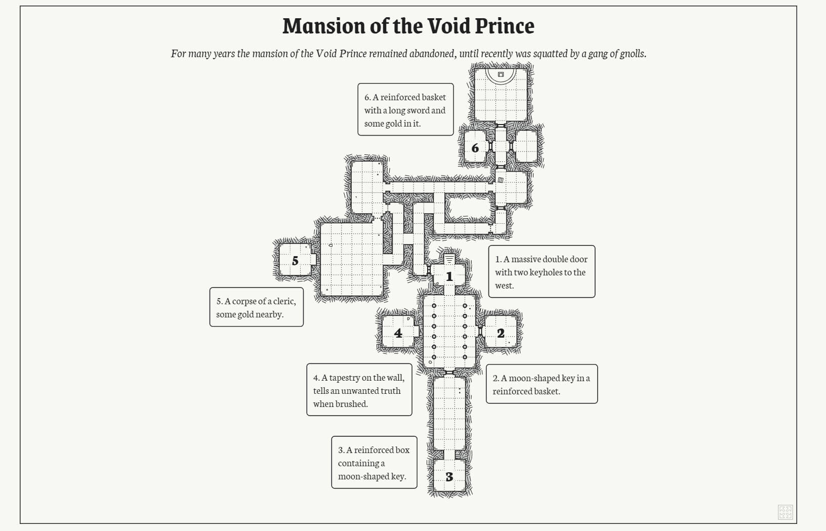 Dungeon map maker: Generate a dungeon for your RPG in just a few seconds