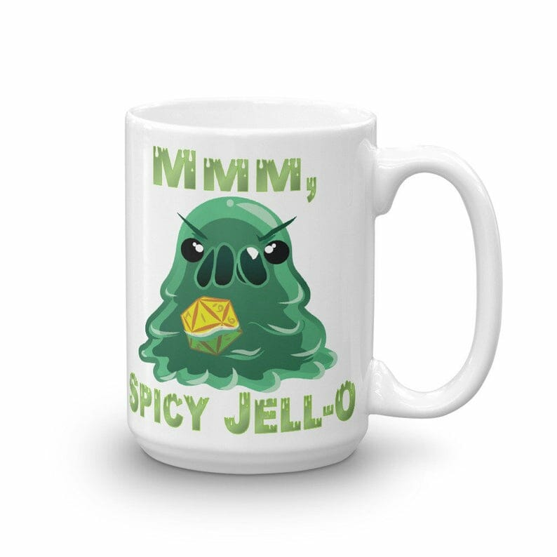 Mmm, spicy jell-o
